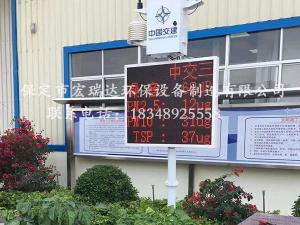 中国交通建设地铁项目—贝博手机网页扬尘监测案例