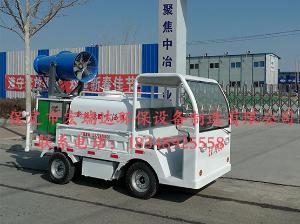 HRD-SW7新能源贝博足球下载四轮喷洒雾炮车