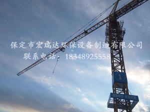 贝博手机网页塔吊喷淋—影视城中建一局项目案例