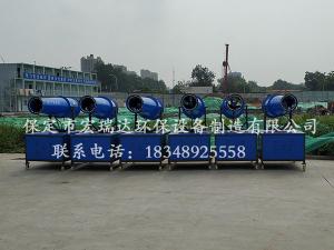 河北贝博手机网页PW30降尘雾炮机走进湖北京奥建设