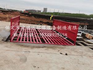 保定贝博手机网页工程洗轮机在山东枣庄建筑工地上岗