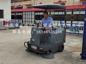 保定贝博手机网页贝博足球下载清扫车在廊坊文安县殡仪馆上岗